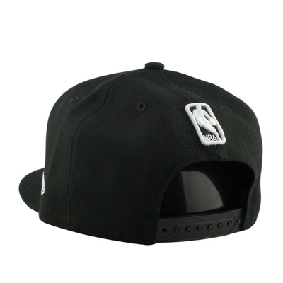 New Era Cleveland Cavaliers White Team Deluxe Black/Black Snapback