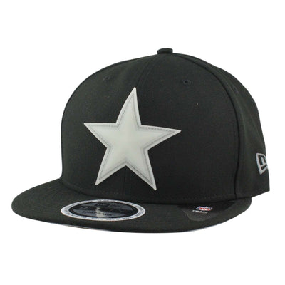 New Era Dallas Cowboys Glow Game Black/Black Snapback