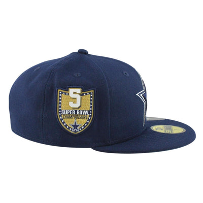 New Era Dallas Cowboys Golden Hit Navy/Navy Fitted