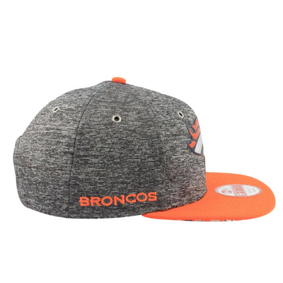 New Era Denver Broncos NFL16 Draft Gray/Orange Snapback