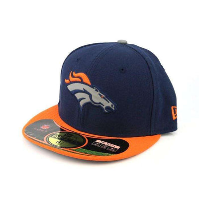 New Era Denver Broncos Thanksgiving Blue/Orange Fitted