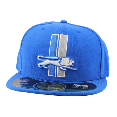 New Era Detroit Lions On Field Blue/Blue Fitted