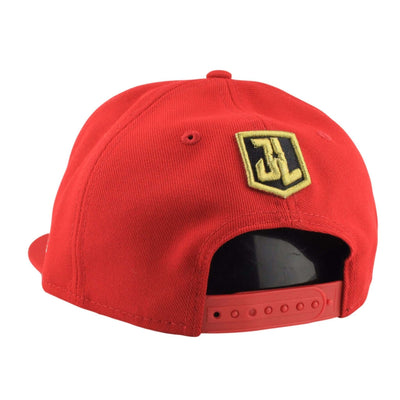 New Era Flash Justice League Red/Red Snapback
