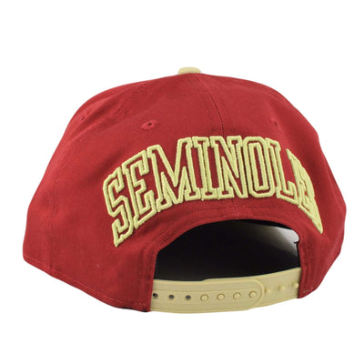 New Era Florida State Seminoles Off Liner Maroon/Tan Snapback