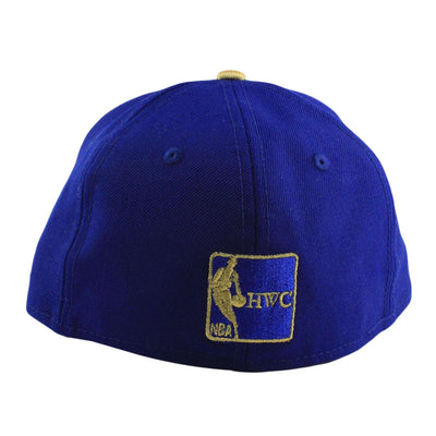 New Era Golden State Warriors All Gold The City Blue/Blue Fitted