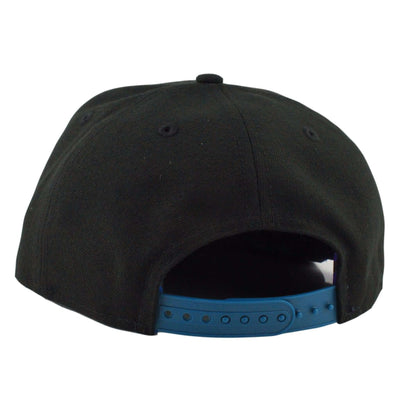 New Era Golden State Warriors Aqua Hook Basic Black/Black Snapback