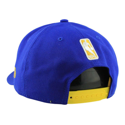 New Era Golden State Warriors Crown Solid Blue/Blue Snapback