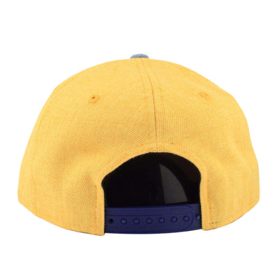 New Era Golden State Warriors Heather Act Yellow/Blue Snapback