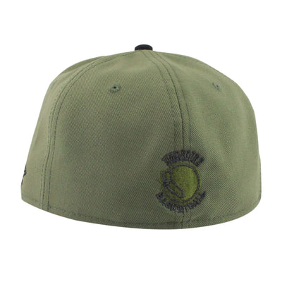 New Era Golden State Warriors HWC Olive/Black Fitted