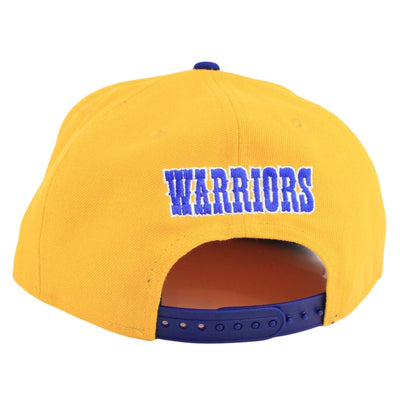 New Era Golden State Warriors HWC The City Yellow/Blue Snapback