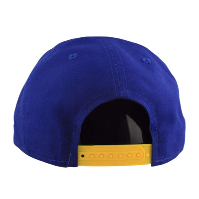 New Era Golden State Warriors Shore Snapper Blue/Yellow Snapback