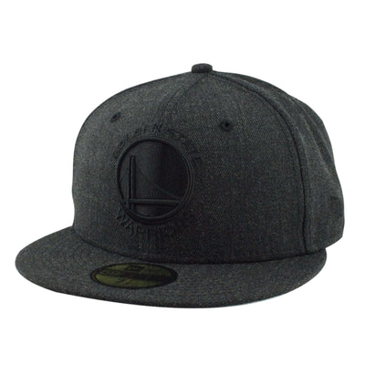 New Era Golden State Warriors Total Tone Charcoal/Charcoal Fitted