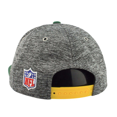 New Era Green Bay Packers 2016 Draft Gray/Green Snapback