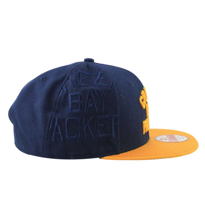 New Era Green Bay Packers NFL16 On Field Navy/Yellow Snapback