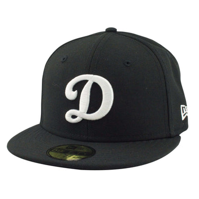 New Era Los Angeles Dodgers Alternate D Black/Black Fitted