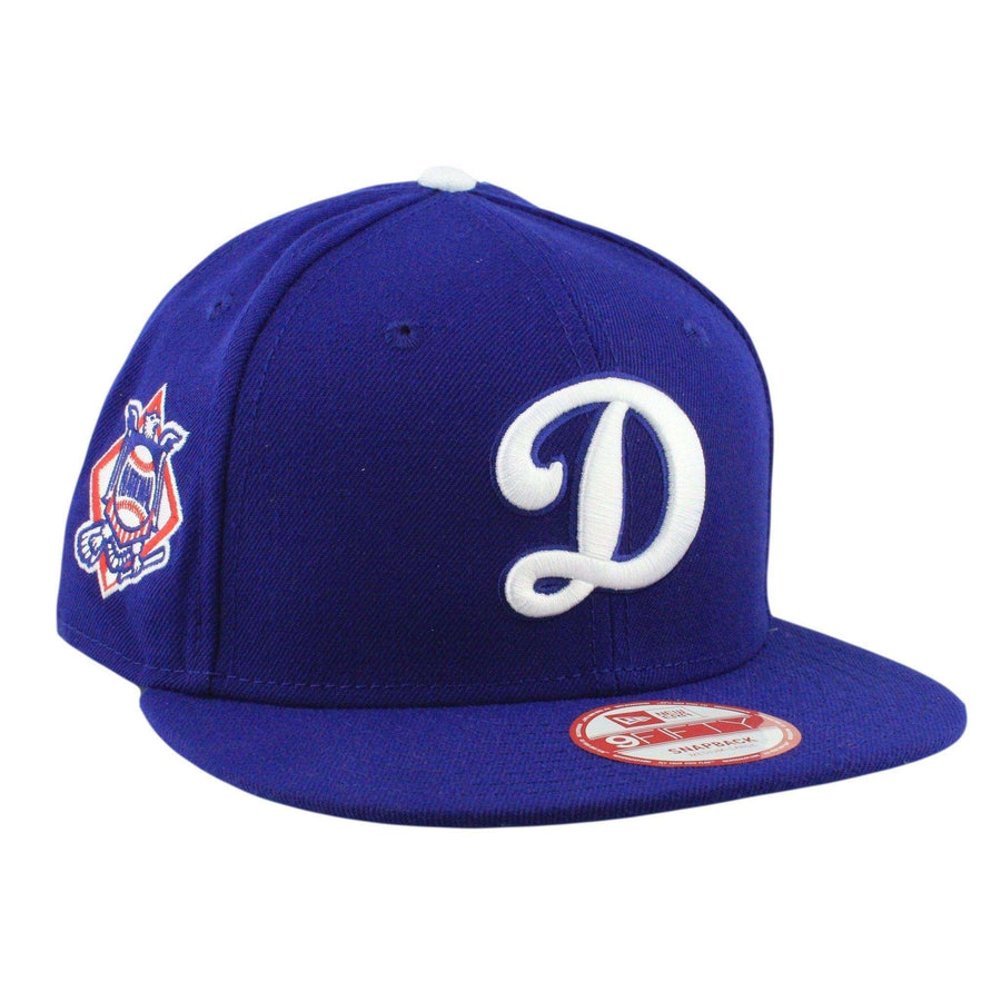 New Era Los Angeles Dodgers Baycik D Blue Blue Snapback 0e364d7d4e8