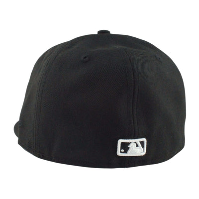 "New Era Los Angeles Dodgers ""D"" Logo Black/Black Fitted"