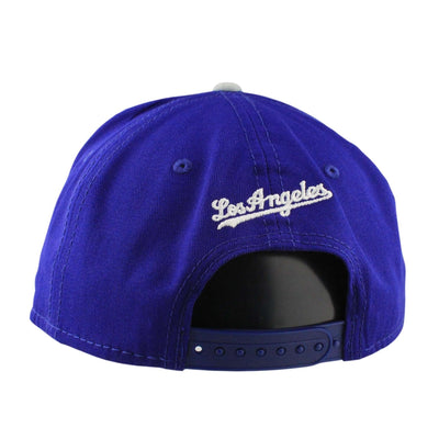 New Era Los Angeles Dodgers Detailed Vize Blue/Gray Snapback