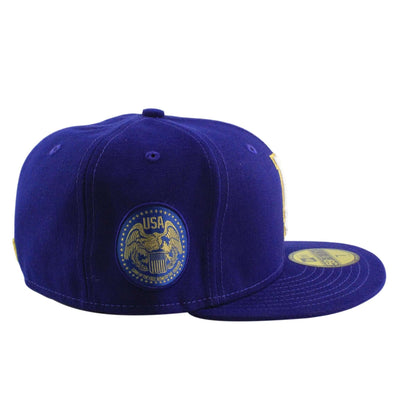 New Era Los Angeles Dodgers Finest Blue/Blue Fitted