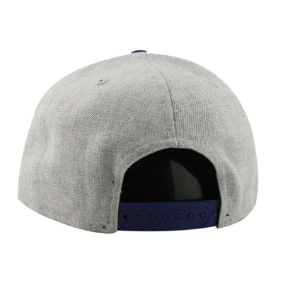 New Era Los Angeles Dodgers Heather Grand Gray/Blue Snapback