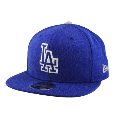 New Era Los Angeles Dodgers Heather Hype Blue/Blue Snapback