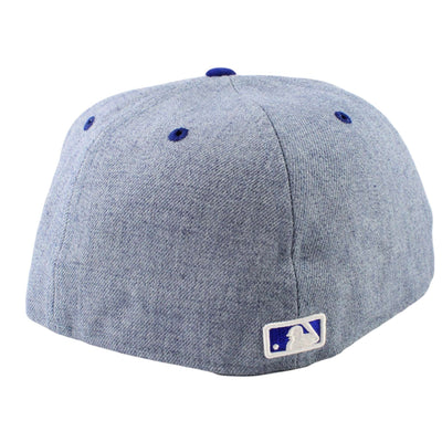 New Era Los Angeles Dodgers Heather League Heather Blue/Blue Fitted
