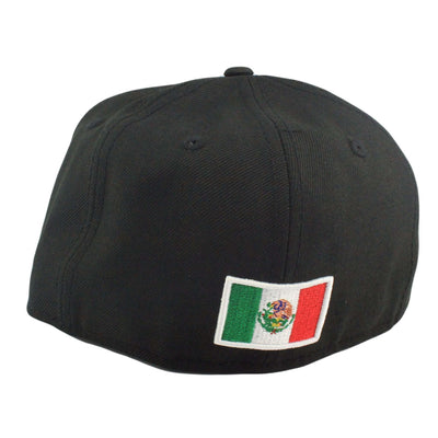 "New Era Los Angeles Dodgers ""Mexico"" Black/Black Fitted"