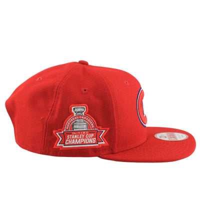 New Era Montreal Canadiens Title Detailer Red/Red Snapback