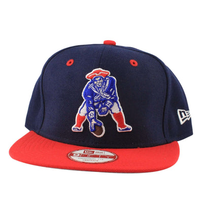 New Era New England Patriots 2Tone Throwback Blue/Red Snapback
