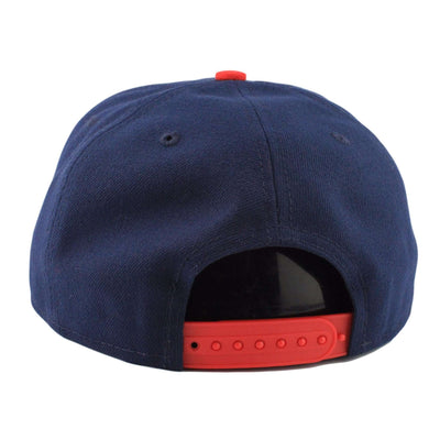 New Era New England Patriots Logo Grand Redux Blue/Red Snapback