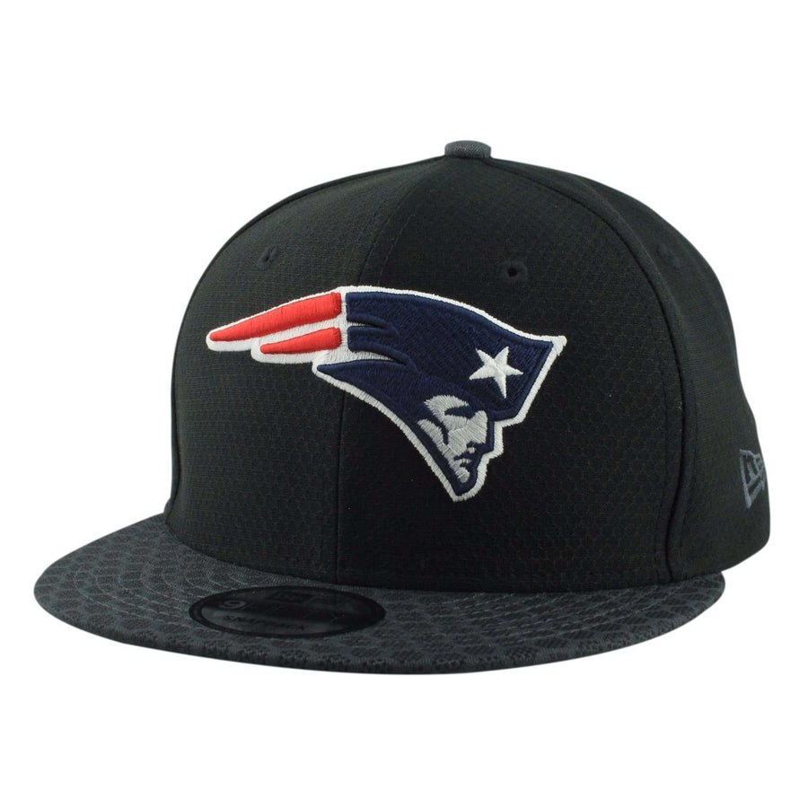 sale retailer 378a4 09388 hot nfl new era side line fitted 5950 hats new england patriots cb98b  eb525  cheap new era new england patriots nfl17 sideline black gray  snapback 290be ...