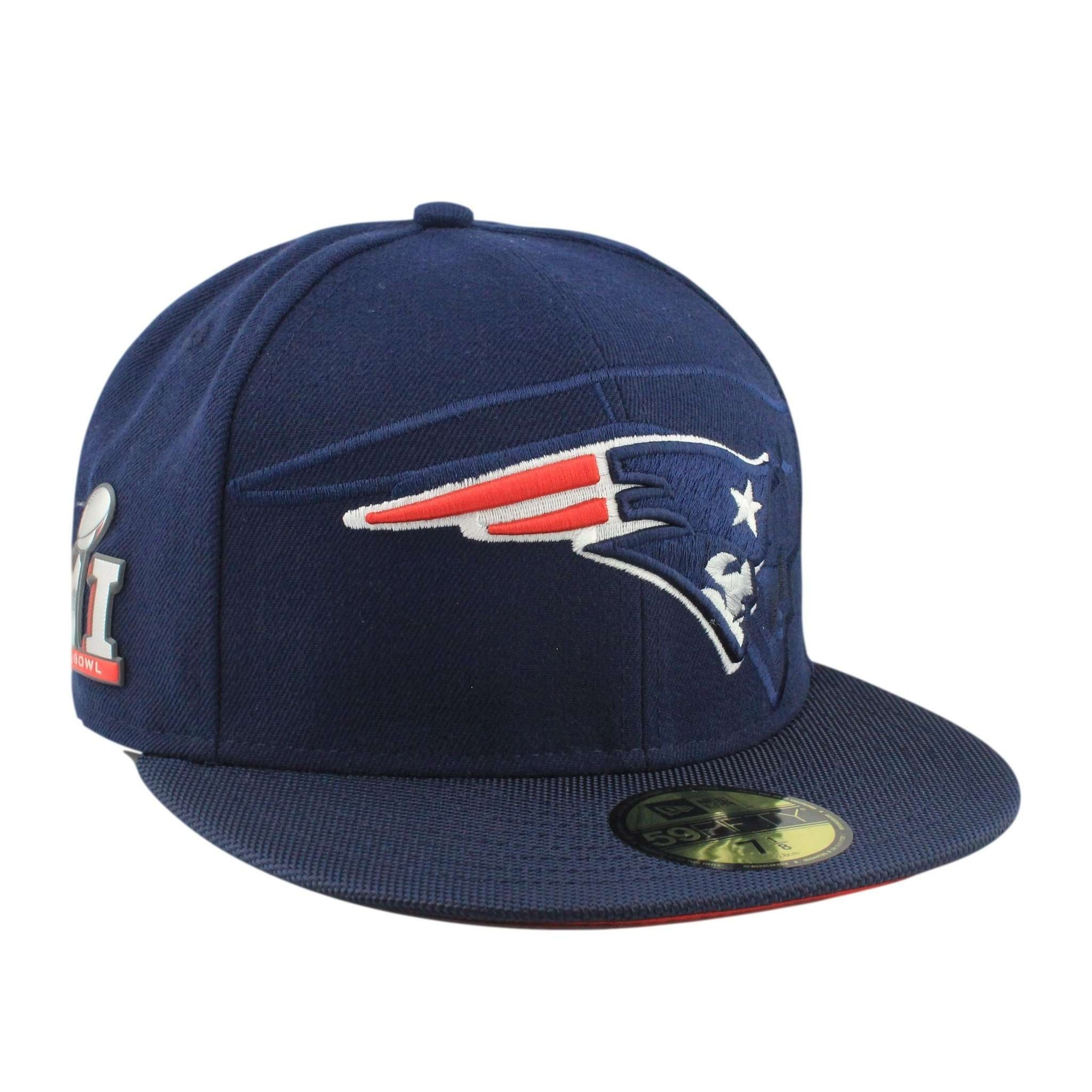 New England Patriots Fitted Throwback Hat