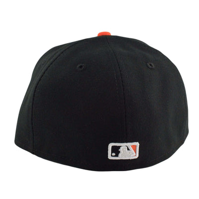 New Era New Era Baltimore Orioles Road Black/Orange Fitted