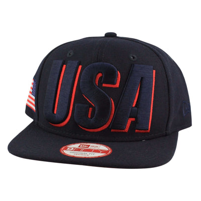 New Era New Era Country Cheer USA Blue/Blue Snapback