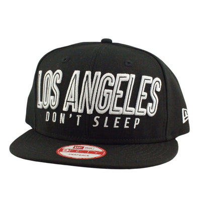 New Era New Era LA Don't Sleep Black/Black Snapback