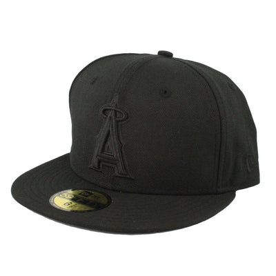 New Era New Era Los Angeles Angels Black/Black Fitted
