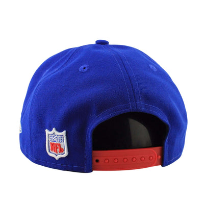 New Era New York Giants Retro Logo Blue Blue Snapback 4bda52468