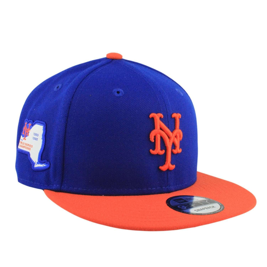 New Era New York Mets Side Stated Blue Orange Snapback 2efecb3c0d7