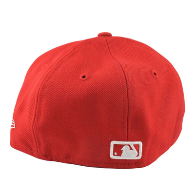 New Era New York Yankees Basic Kids Red/Red Fitted
