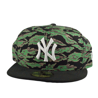 New Era New York Yankees Logo Tiger Camo/Black Fitted