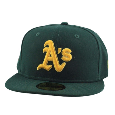 New Era Oakland A's Finest Green/Green Fitted