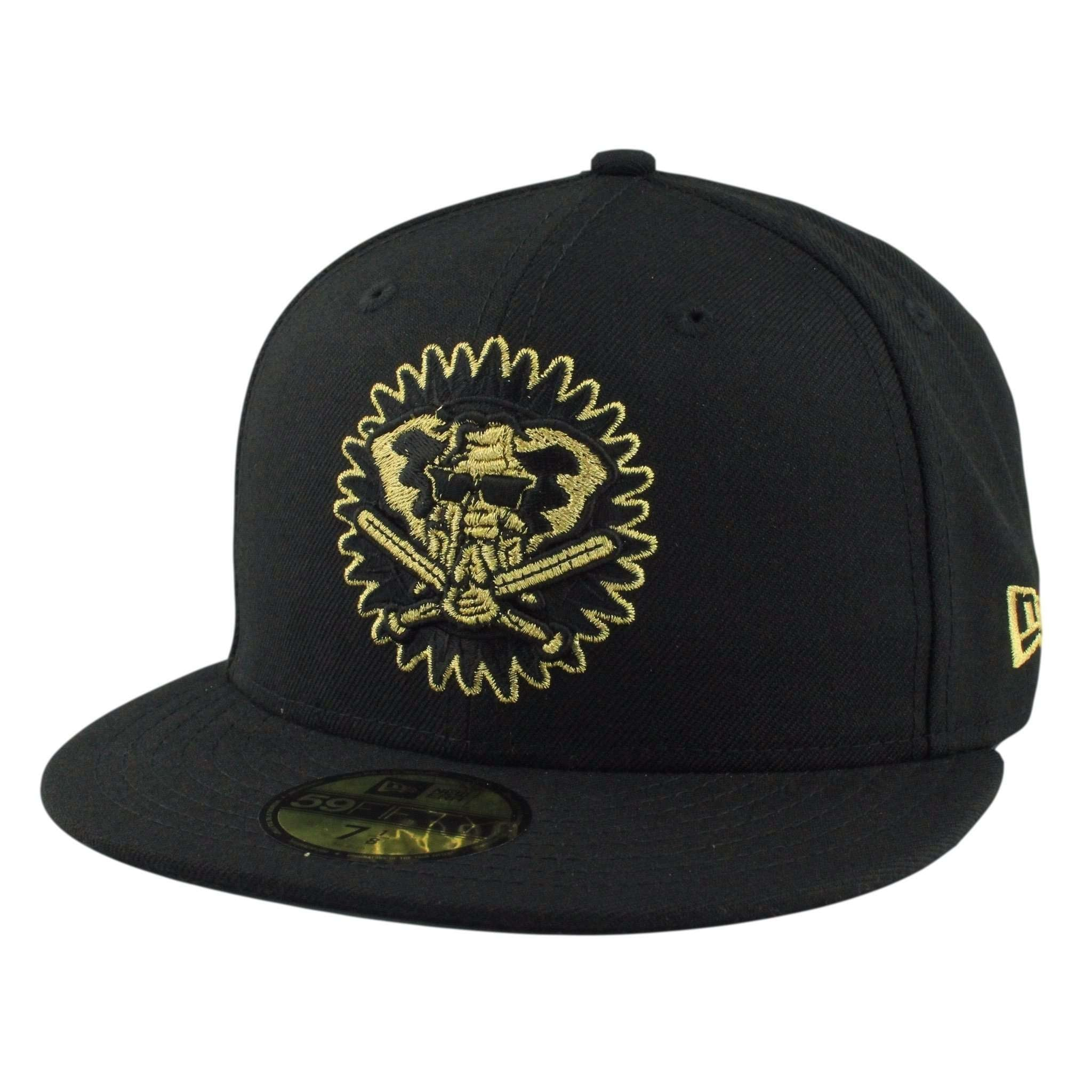 new styles 8e9c9 2a896 Oakland A s Gold Elephant Black Black Fitted
