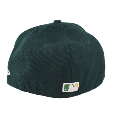 New Era Oakland A's Logo Lush Green/Green Fitted