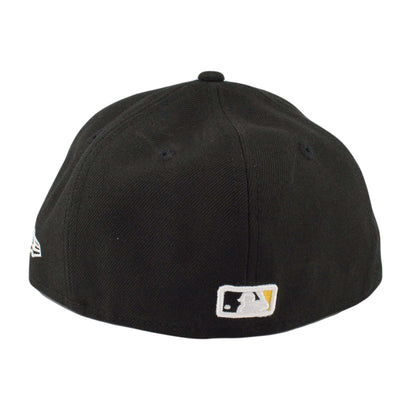 New Era Pittsburgh Pirates Logo Lush Black/Black Fitted