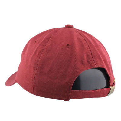 No Boyz Allowed No Boyz Allowed Selena Rose Split Burgundy/Burgundy Slouch Strapback