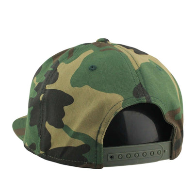Oscar Mike Oscar Mike Bronze Marines Flag Patch Camo/Camo Snapback