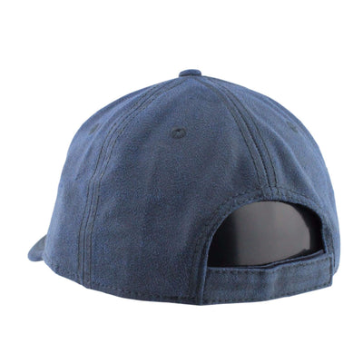 Otto Blank 6-Panel Heavy Washed Wax Coated Cotton Navy/Navy Velcroback