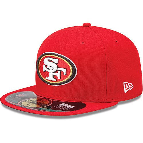 San Francisco 49ers On Field Red/Red Fitted - Bespoke Cut and Sew