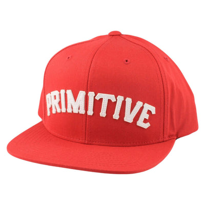 Primitive Primitive Slab Type SP15 Red/Red Snapback