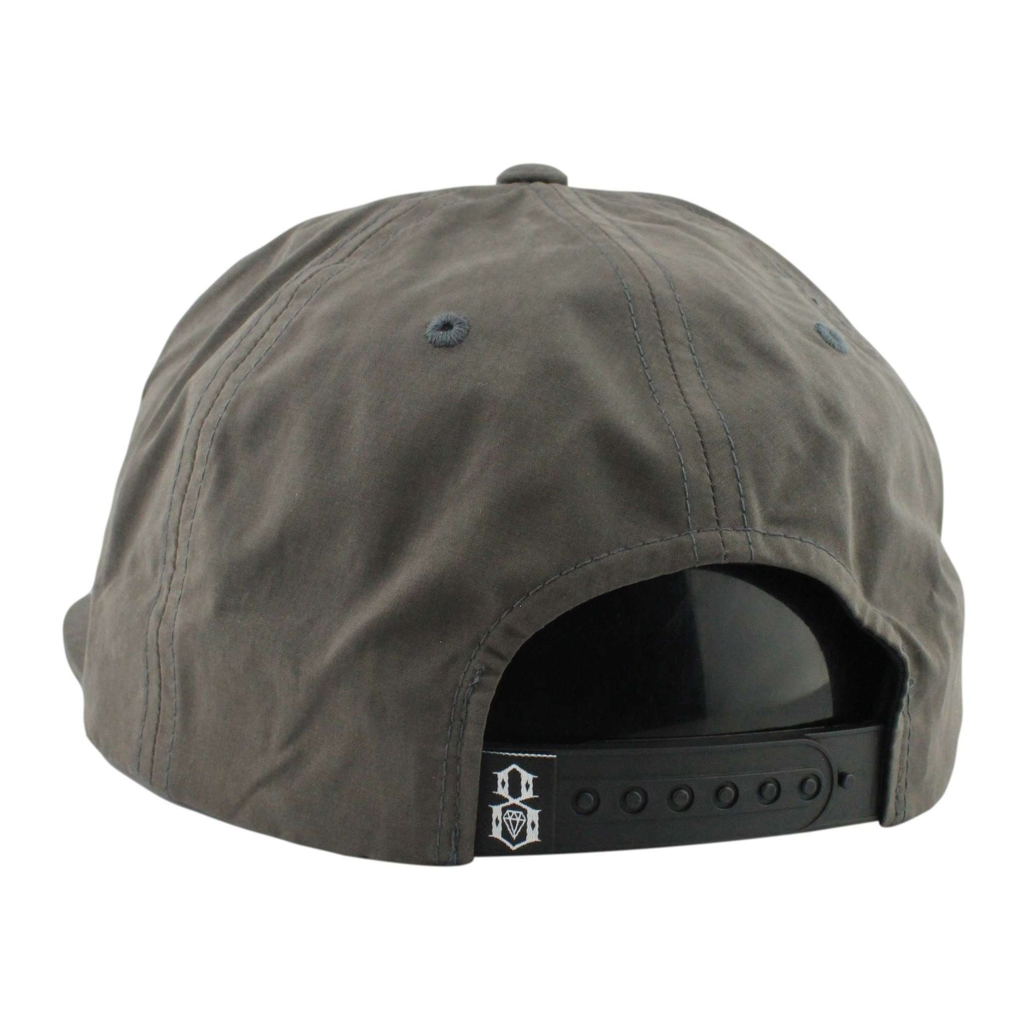 9fb9cb3f96f29 Rebel 8 Rebel 8 Lakeview Charcoal Charcoal Unstructured Snapback